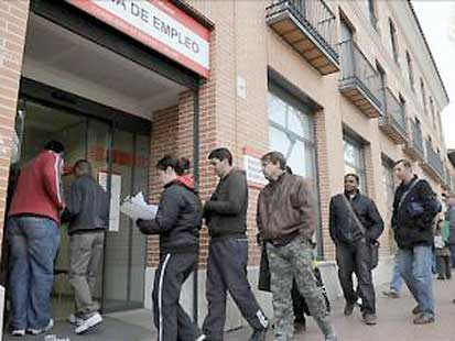 Nuevo r cord de desempleo en la eurozona 10 7 en enero for Oficina de desempleo
