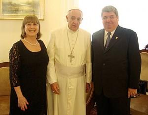 Bergoglio-y-Pedace