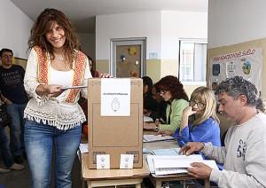 Magdalena-votando