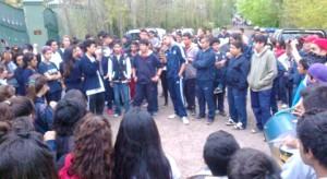 reclamo-estudiantes-Villa-La-Ñata