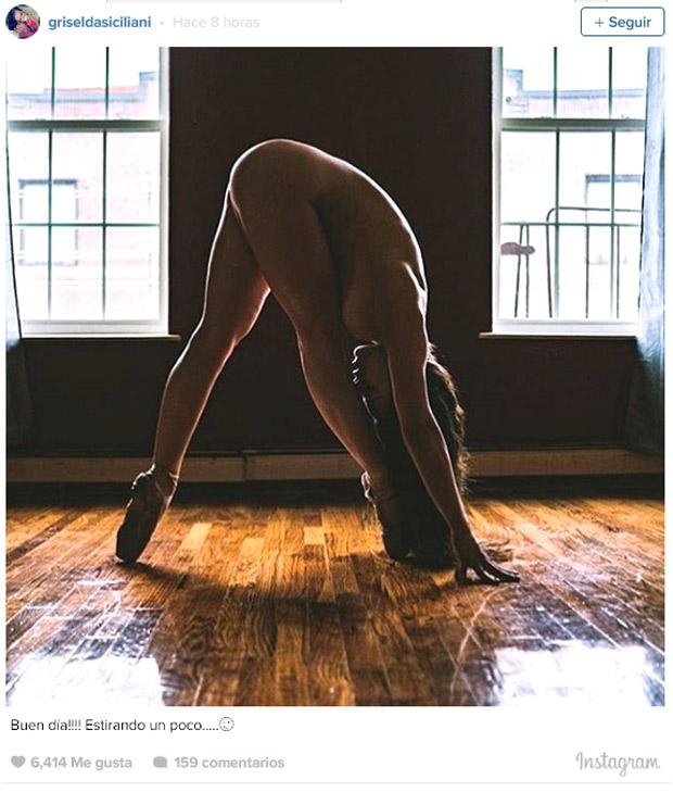 Griselda Siciliani Y Su Foto Desnuda En Instagram El Sindical