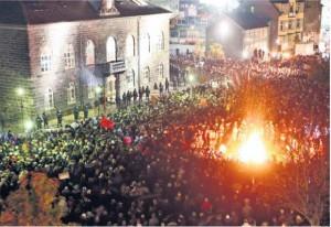 protesta-Islandia