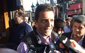 Sergio Massa declaraciones a la prensa